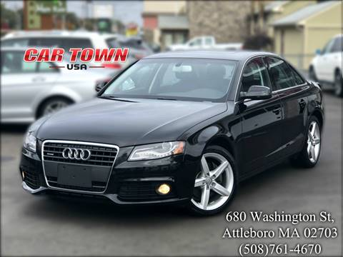 2012 Audi A4 for sale at Car Town USA in Attleboro MA