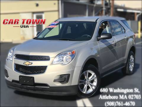 2012 Chevrolet Equinox for sale at Car Town USA in Attleboro MA