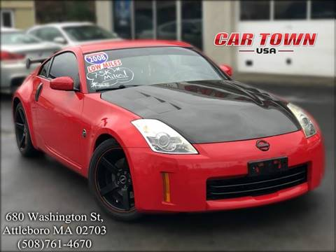 2008 Nissan 350Z for sale at Car Town USA in Attleboro MA