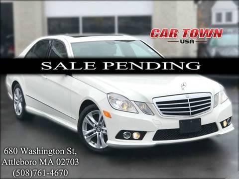 2010 Mercedes-Benz E-Class for sale at Car Town USA in Attleboro MA
