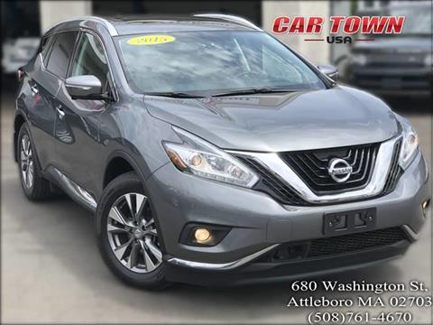 2015 Nissan Murano for sale at Car Town USA in Attleboro MA