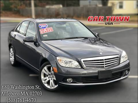 2011 Mercedes-Benz C-Class for sale at Car Town USA in Attleboro MA
