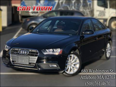 2014 Audi A4 for sale at Car Town USA in Attleboro MA