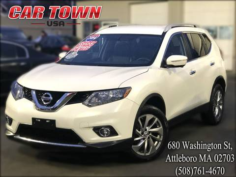 2014 Nissan Rogue for sale at Car Town USA in Attleboro MA