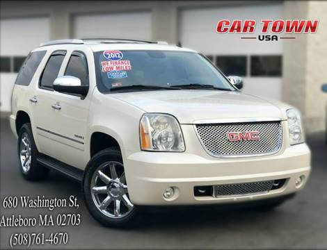 2012 GMC Yukon for sale at Car Town USA in Attleboro MA