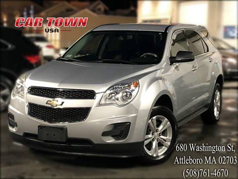 2010 Chevrolet Equinox for sale at Car Town USA in Attleboro MA
