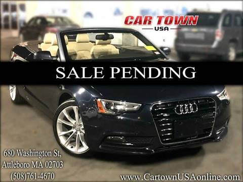 2013 Audi A5 for sale at Car Town USA in Attleboro MA