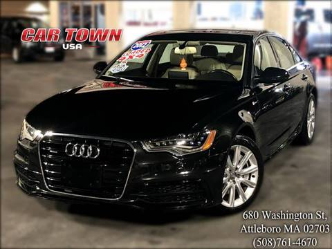 2012 Audi A6 for sale at Car Town USA in Attleboro MA