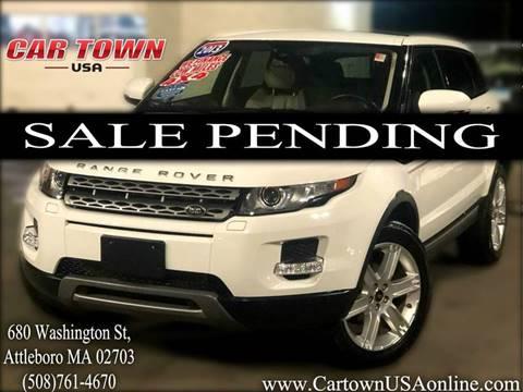 2013 Land Rover Range Rover Evoque for sale at Car Town USA in Attleboro MA