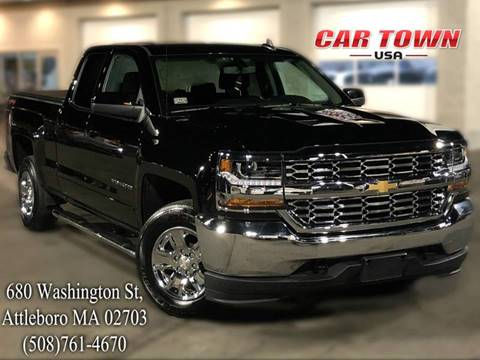 2018 Chevrolet Silverado 1500 for sale at Car Town USA in Attleboro MA