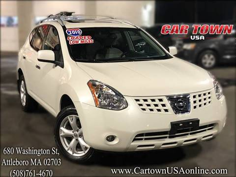 2010 Nissan Rogue for sale at Car Town USA in Attleboro MA