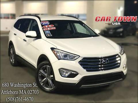2015 Hyundai Santa Fe for sale at Car Town USA in Attleboro MA