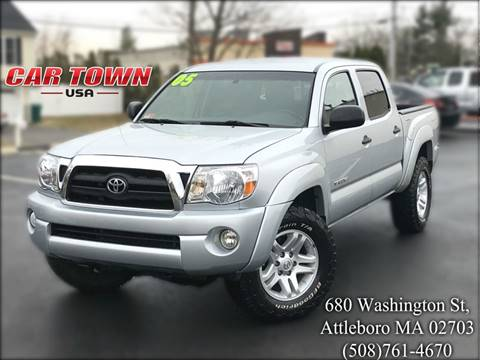 2005 Toyota Tacoma for sale at Car Town USA in Attleboro MA