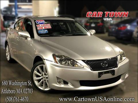 2009 Lexus IS 250 for sale at Car Town USA in Attleboro MA