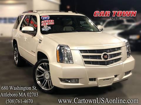 2013 Cadillac Escalade for sale at Car Town USA in Attleboro MA