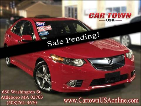 2012 Acura TSX for sale at Car Town USA in Attleboro MA