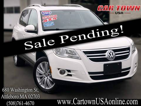 2010 Volkswagen Tiguan for sale at Car Town USA in Attleboro MA