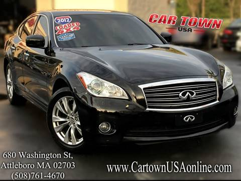 2012 Infiniti M37 for sale at Car Town USA in Attleboro MA