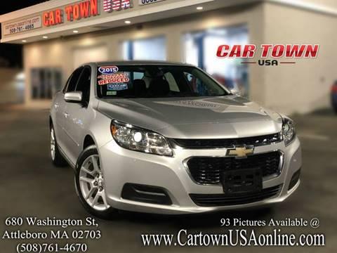 2015 Chevrolet Malibu for sale at Car Town USA in Attleboro MA
