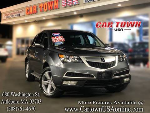 2012 Acura MDX for sale at Car Town USA in Attleboro MA