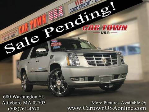 2013 Cadillac Escalade ESV for sale at Car Town USA in Attleboro MA