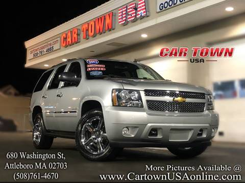 2012 Chevrolet Tahoe for sale at Car Town USA in Attleboro MA