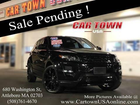 2014 Land Rover Range Rover Evoque for sale at Car Town USA in Attleboro MA