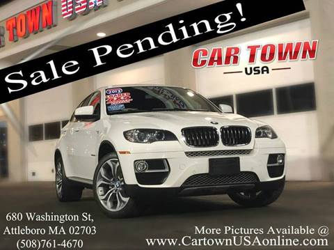 2013 BMW X6 for sale at Car Town USA in Attleboro MA