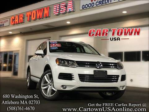 2013 Volkswagen Touareg for sale at Car Town USA in Attleboro MA