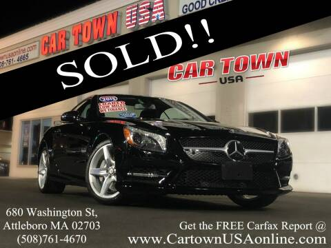 2015 Mercedes-Benz SL-Class for sale at Car Town USA in Attleboro MA