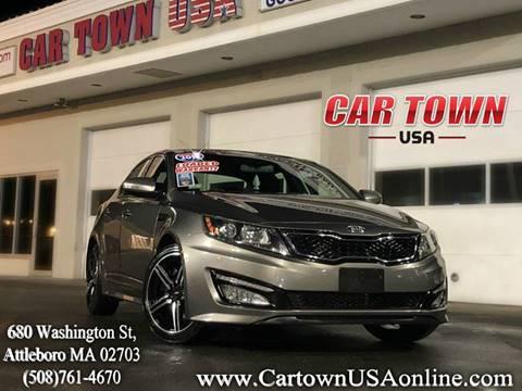 2013 Kia Optima for sale at Car Town USA in Attleboro MA