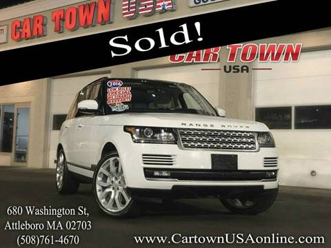 2016 Land Rover Range Rover for sale at Car Town USA in Attleboro MA