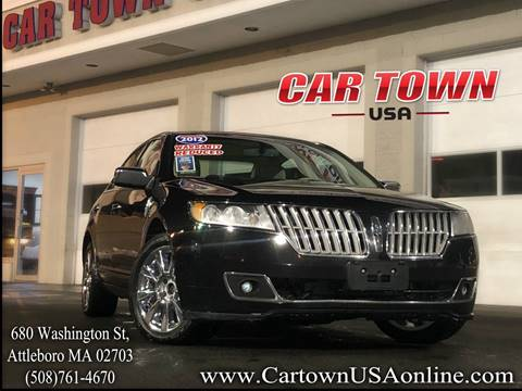 2012 Lincoln MKZ for sale at Car Town USA in Attleboro MA