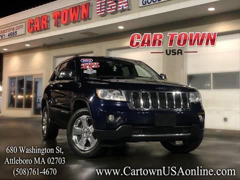2012 Jeep Grand Cherokee for sale at Car Town USA in Attleboro MA