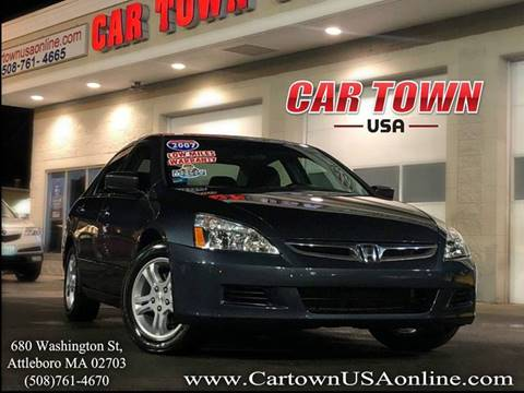 2007 Honda Accord for sale at Car Town USA in Attleboro MA