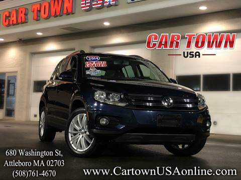 2014 Volkswagen Tiguan for sale at Car Town USA in Attleboro MA
