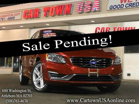 2015 Volvo S60 for sale at Car Town USA in Attleboro MA
