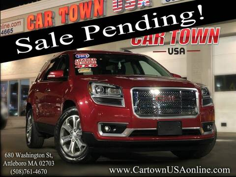 2013 GMC Acadia for sale at Car Town USA in Attleboro MA