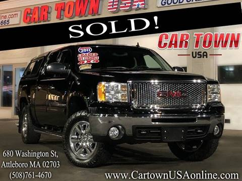 2011 GMC Sierra 1500 for sale at Car Town USA in Attleboro MA