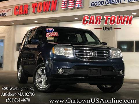 2012 Honda Pilot for sale at Car Town USA in Attleboro MA