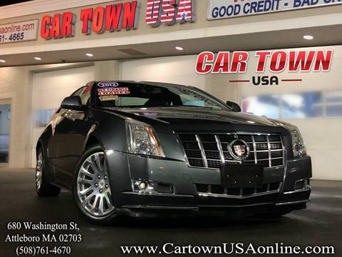 2012 Cadillac CTS for sale at Car Town USA in Attleboro MA