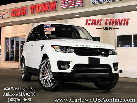 2016 Land Rover Range Rover Sport for sale at Car Town USA in Attleboro MA