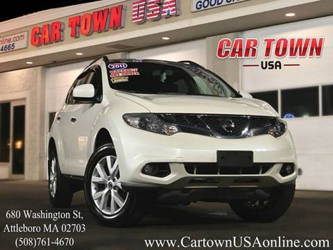 2011 Nissan Murano for sale at Car Town USA in Attleboro MA