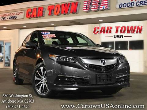 2015 Acura TLX for sale at Car Town USA in Attleboro MA