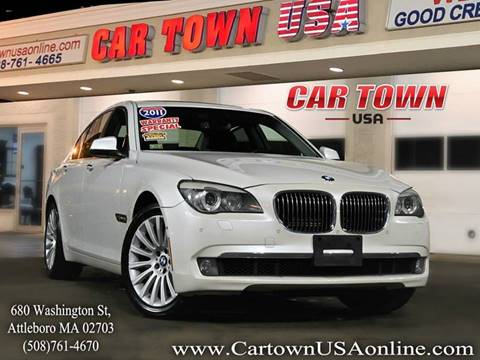 2011 BMW 7 Series for sale at Car Town USA in Attleboro MA