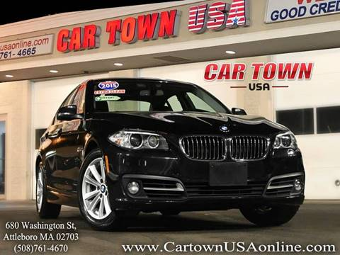 2015 BMW 5 Series for sale at Car Town USA in Attleboro MA