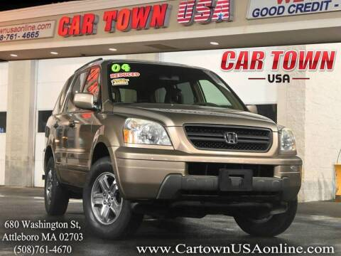 2004 Honda Pilot for sale at Car Town USA in Attleboro MA