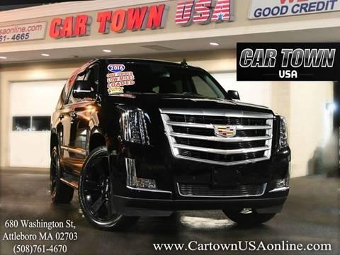 2016 Cadillac Escalade for sale at Car Town USA in Attleboro MA
