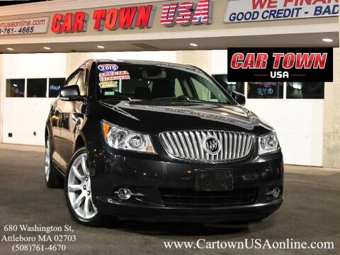 2010 Buick LaCrosse for sale at Car Town USA in Attleboro MA