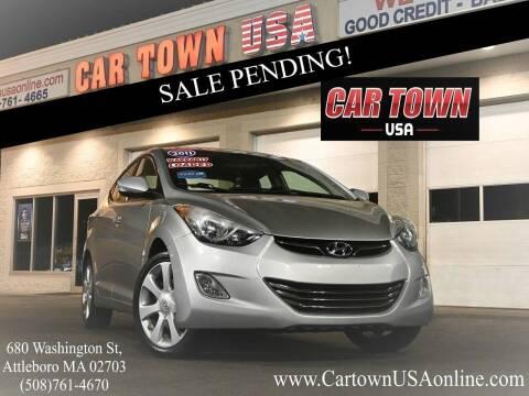 2011 Hyundai Elantra for sale at Car Town USA in Attleboro MA